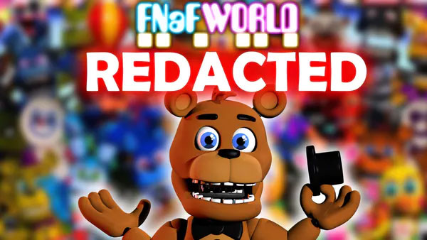 FNaF World Redacted Fangame Download