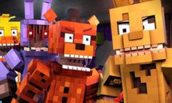 Skins Pack FNAF For Minecraft