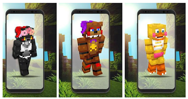 Skins FNAF For Minecraft APK Download